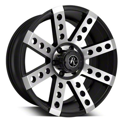 Remington Off-Road Buckshot Satin Black Machined 6-Lug Wheel - 20x10 (07-18 Sierra 1500)