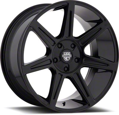 Center Line 841B Gloss Black 6-Lug Wheel - 20x9 (07-18 Sierra 1500)