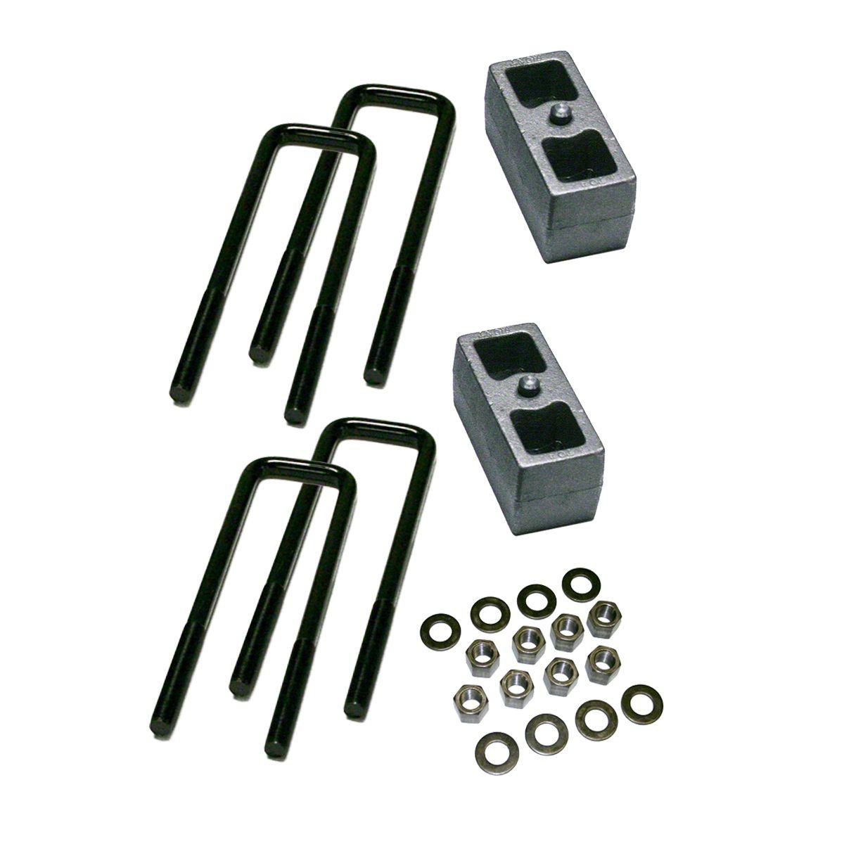 SuperLift 3 in. Rear Lift Block Kit (07-10 4WD Sierra 1500)