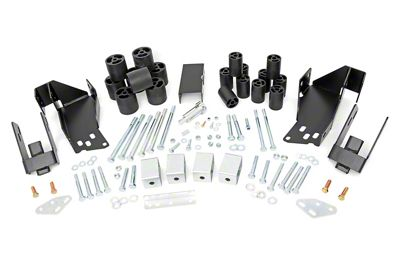 Rough Country 3 in. Body Lift Kit (07-13 Sierra 1500)