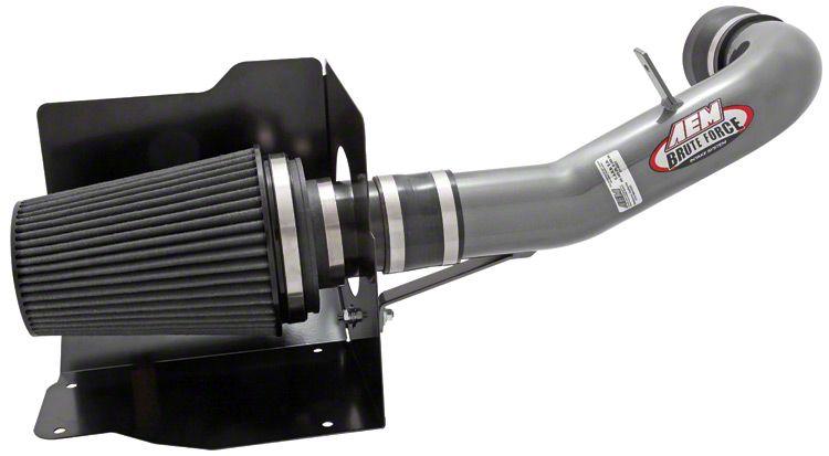 AEM Brute Force Cold Air Intake - Gunmetal Gray (07-08 6.0L Sierra 1500)