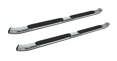 Go Rhino 5 in. OE Xtreme Composite Side Step Bars - Chrome (07-13 Sierra 1500 Extended Cab)