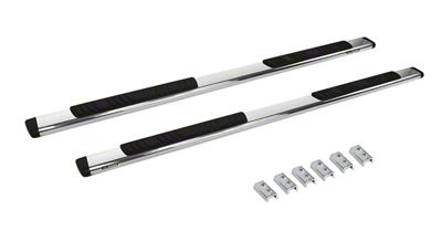 Go Rhino 5 in. OE Xtreme Low Profile Side Step Bars - Stainless Steel (07-13 Sierra 1500 Extended Cab)