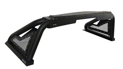 Go Rhino Sport Bar 2.0 Roll Bar - Textured Black (14-18 Sierra 1500)