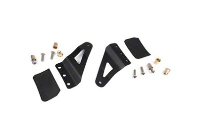 Rough Country 54 in. Curved LED Light Bar Upper Windshield Mounting Brackets (07-13 Sierra 1500)