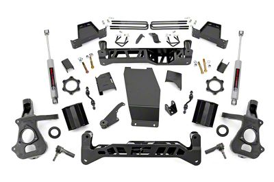 Rough Country 7 in. Suspenion Lift Kit (2018 4WD Sierra 1500)