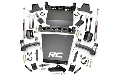 Rough Country 7 in. Suspension Knuckle Lift Kit (14-17 4WD Sierra 1500 w/ Stamped Steel Control Arms)