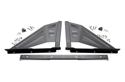 Rough Country Sport Bar w/ 50 in. Chrome Series LED Light Bar (07-18 Sierra 1500)