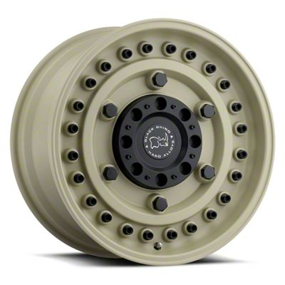 Black Rhino Armory Desert Sand 6-Lug Wheel - 17x9.5 (07-18 Sierra 1500)