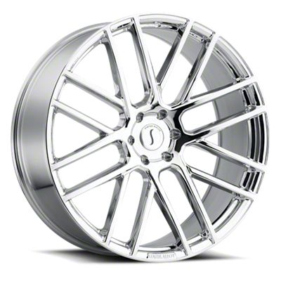 Status Rogue Chrome 6-Lug Wheel - 22x9.5 (07-18 Sierra 1500)