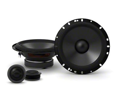 Alpine S-Series 6-1/2 in. Component 2-Way Speakers - 80W (07-13 Sierra 1500)
