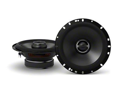 Alpine S-Series 6-1/2 in. Coaxial 2-Way Speakers - 80W (07-13 Sierra 1500)