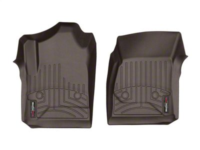 Weathertech DigitalFit Front Floor Liners - Cocoa (14-18 Sierra 1500 Regular Cab)