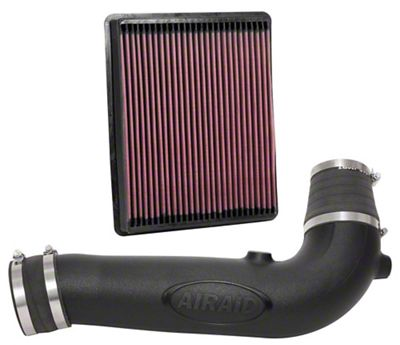 Airaid Jr. Intake Tube Kit w/ SynthaFlow Oiled Filter (17-18 4.3L Sierra 1500)