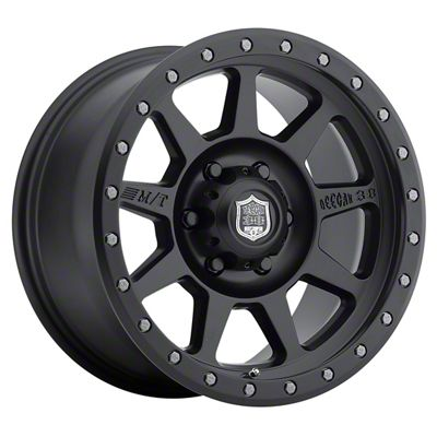 Mickey Thompson Deegan 38 Pro 4 Black 6-Lug Wheel - 17x9 (07-18 Sierra 1500)