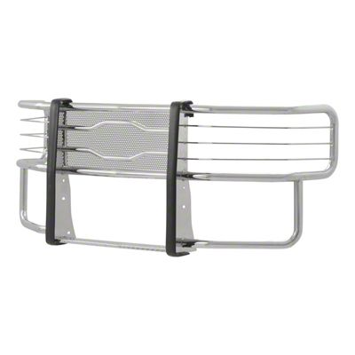 Luverne Prowler Max Grille Guard - Polished Stainless (07-13 Sierra 1500)