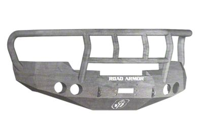 Road Armor Stealth Winch Front Bumper w/ Titan II Guard - Raw (07-13 Sierra 1500)
