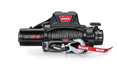WARN VR12-S 12,000 lb. Winch w/ Synthetic Rope