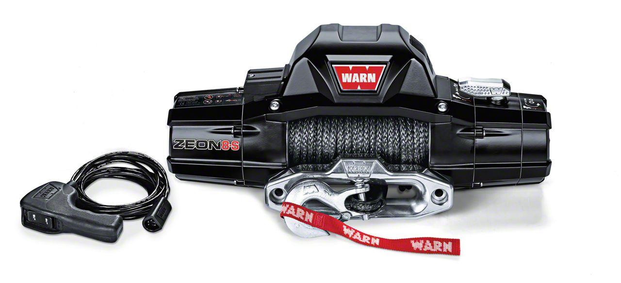 WARN ZEON 8-S 8,000 lb. Winch w/ Synthetic Rope