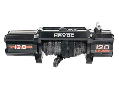 Havoc Offroad 12,000 lb. Winch w/ Synthetic Rope