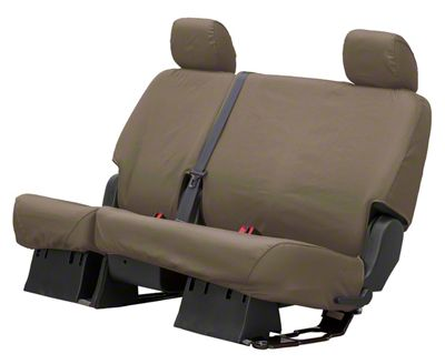Husky Heavy Duty 2nd Row Seat Cover - Taupe (15-18 Sierra 1500 Crew Cab)