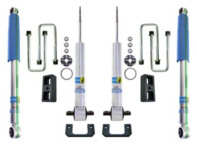 Excel Suspension 0-2.5 in. Front / 1 in. Rear Suspension System w/ Bilstein Shocks (07-13 Sierra 1500)