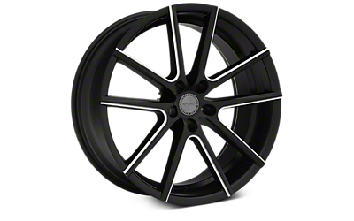 Satin Black Machined Sporza V5 Wheels 2005-2009