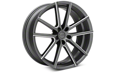 Satin Graphite Machined Sporza V5 Wheels 2005-2009