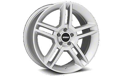 Silver 2010 GT500 Wheels 2005-2009