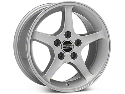 Silver 1995 Cobra R Wheels 1999-2004