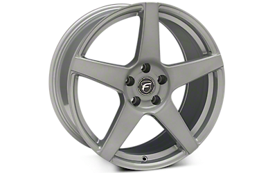 Silver Forgestar CF5 Wheels 2005-2009