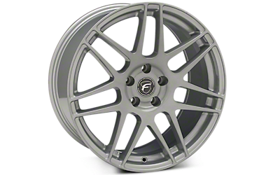 Silver Forgestar F14 Wheels 2005-2009