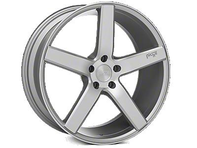Silver Niche Milan Wheels<br />('10-'14 Mustang)