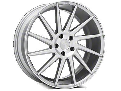 Silver Niche Surge Wheels<br />('15-'20 Mustang)