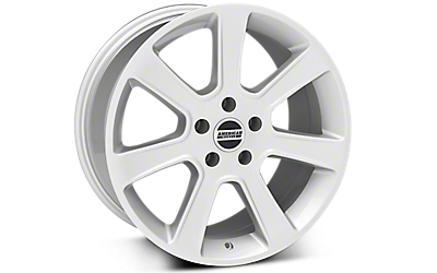 Silver S197 Saleen Style Wheels 2005-2009