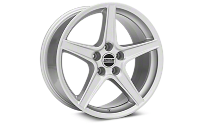 Silver Saleen Style Wheels 2005-2009