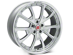 Silver Machined Shelby CS40 Wheels<br />('15-'21 Mustang)