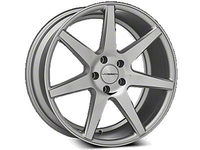 Silver Vossen CV7 Wheels<br />('15-'20 Mustang)