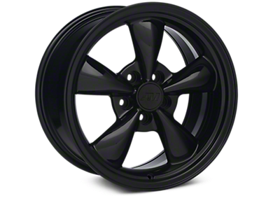 Solid Black Bullitt Wheels<br />('99-'04 Mustang)