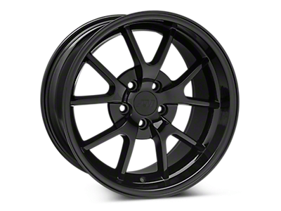 Solid Black FR500 Wheels 1999-2004