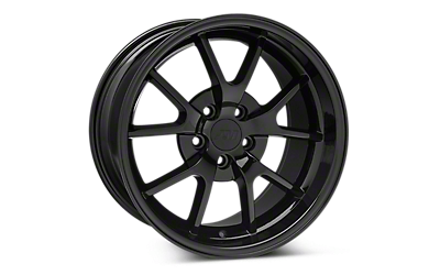 Solid Black FR500 Wheels 2005-2009