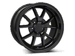 Solid Black FR500 Wheels<br />('99-'04 Mustang)