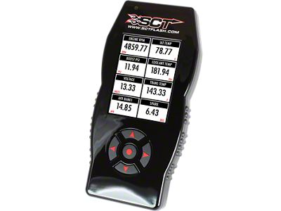 SCT SF4/X4 Power Flash Tuner (10-14 6.2L F-150 Raptor)