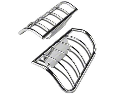 Barricade Tail Light Guard - Polished SS (97-03 F-150 Styleside)