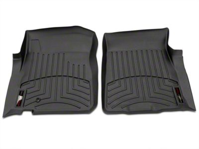 Weathertech Digital Fit Front Floor Liners - Black (97-03 F-150 Regular Cab, SuperCab)