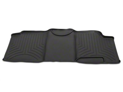 Weathertech Digital Fit Rear Floor Liner - Black (00-03 F-150 SuperCab)