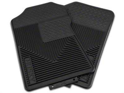 Husky Heavy Duty Front Floor Mats - Black (97-03 F-150)