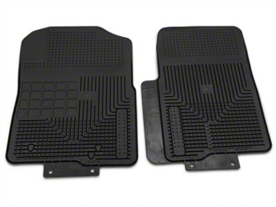 Husky Heavy Duty Front Floor Mats - Black (04-10 F-150)