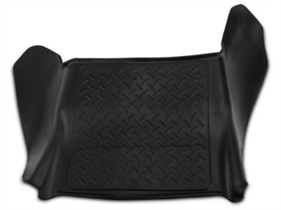 Husky Weatherbeater Center Hump Floor Liner - Black (09-14 F-150)