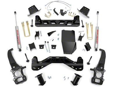 Rough Country 6 in. Suspension Lift Kit w/ Upper Strut Spacers (04-08 4WD F-150)